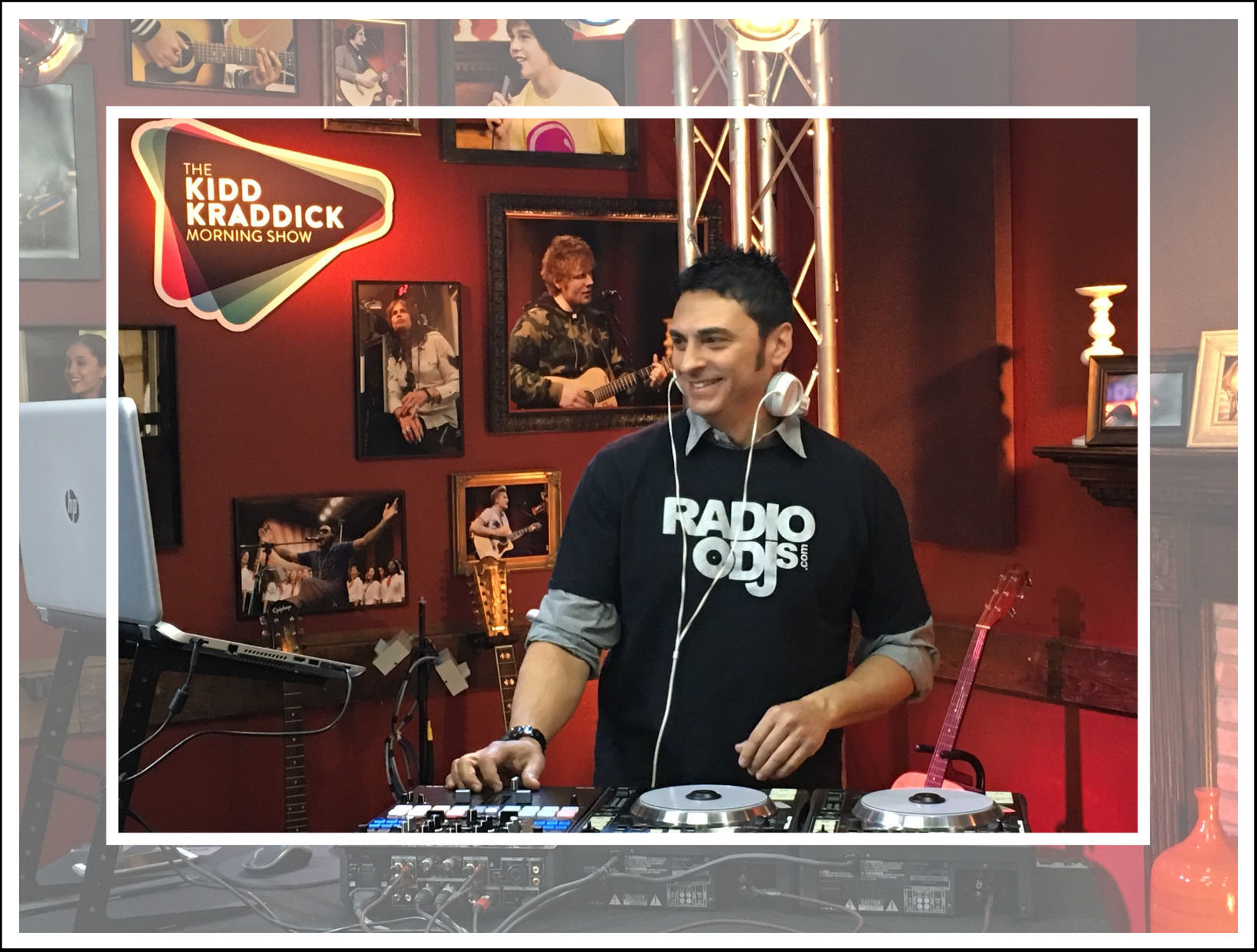 DJ Sean Lee KKMS Jan 2016 (Framed)
